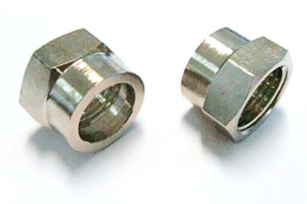 Stainless steel hydraulic hose joint nut