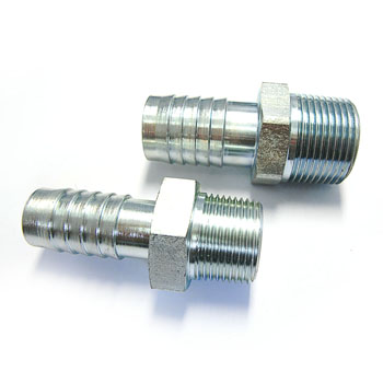 Galvanized carbon steel pipe nipple